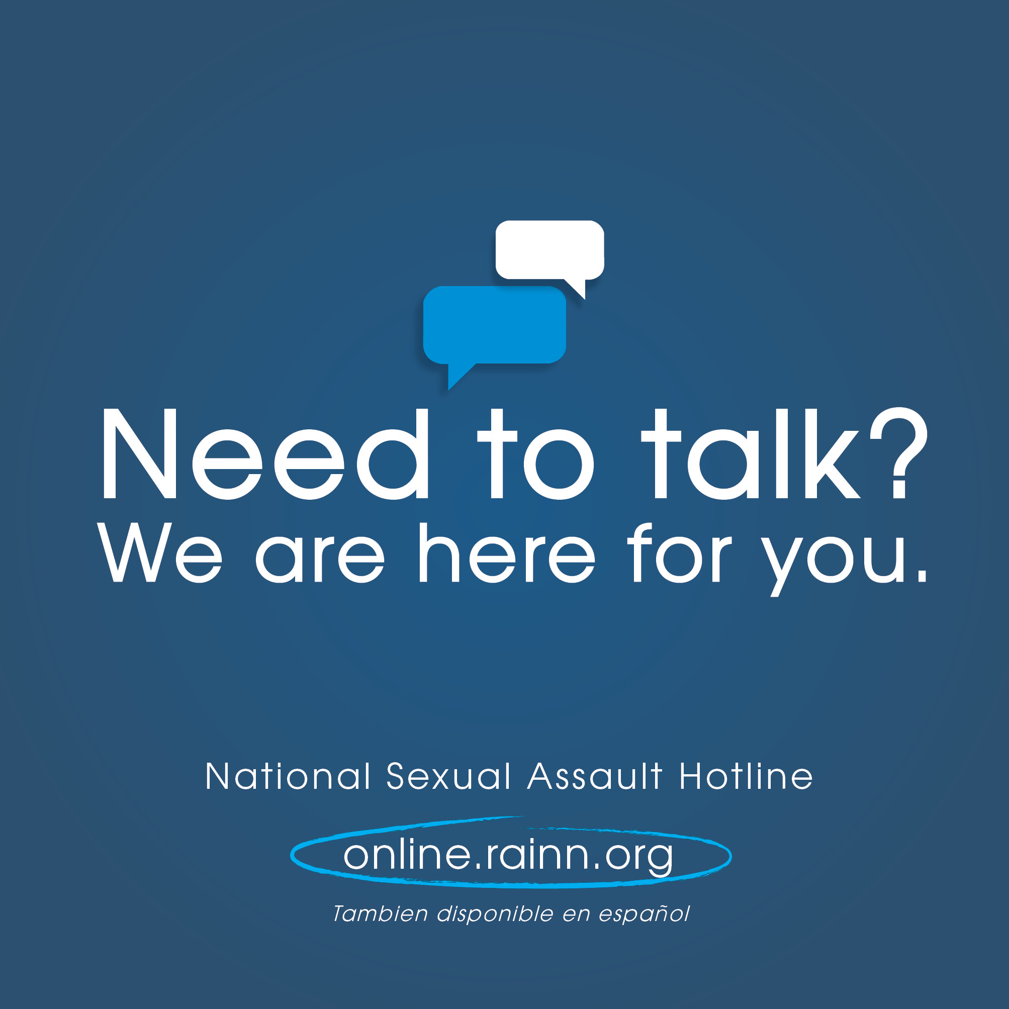 National Sexual Assault Hotline Banner