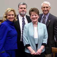 Representatives Maloney and Reichert with Debbie and Rob Smith