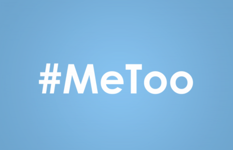 "blue ""#Metoo"" graphic"